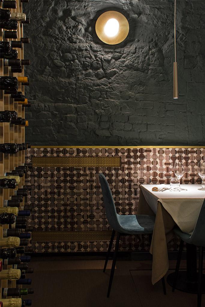 Ristorante Tuorlo con3studio architetti Piemonte