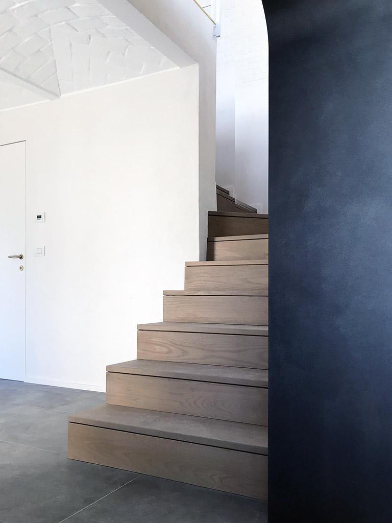 Casa vista Langhe con3studio architetti Piemonte
