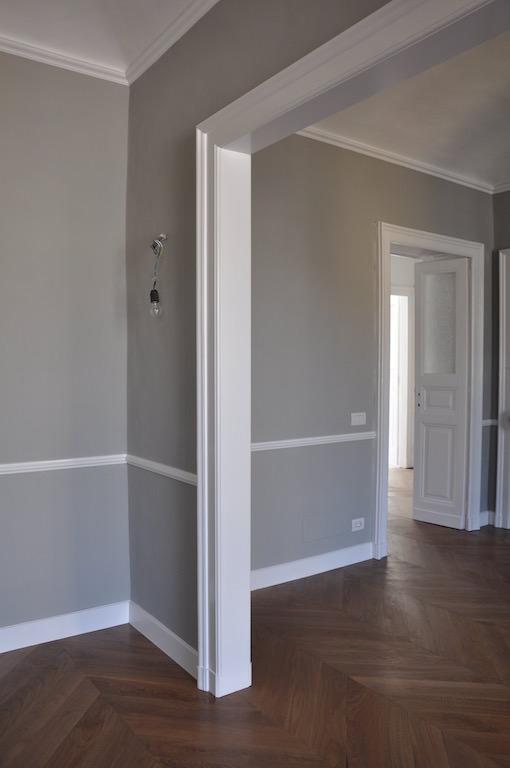 Casa su due piani con sottotetto nel centro di torino for Piani di casa con dispensa maggiordomi