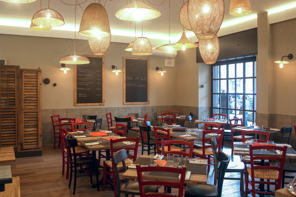 con3studio- architetti torino-Da Ciro -Progettazione ristorante Torino