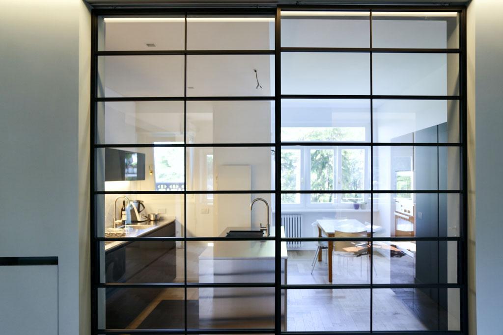con3studio_architetti_torino_ristrutturazione appartamento EUR vista cucina