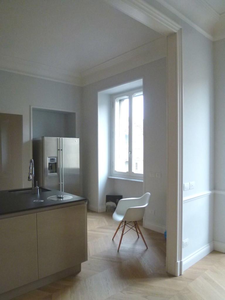 ristrutturazione di un appartamento a Torino con3studio architetti torino