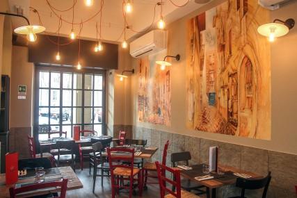 con3studio- architetti torino-Da Ciro -Progettazione ristorante Torino Da Ciro