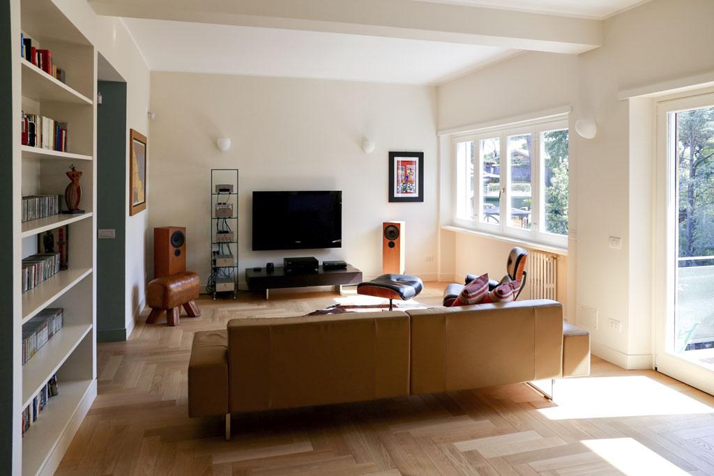 con3studio_architetti_torino_ristrutturazione appartamento EUR sala