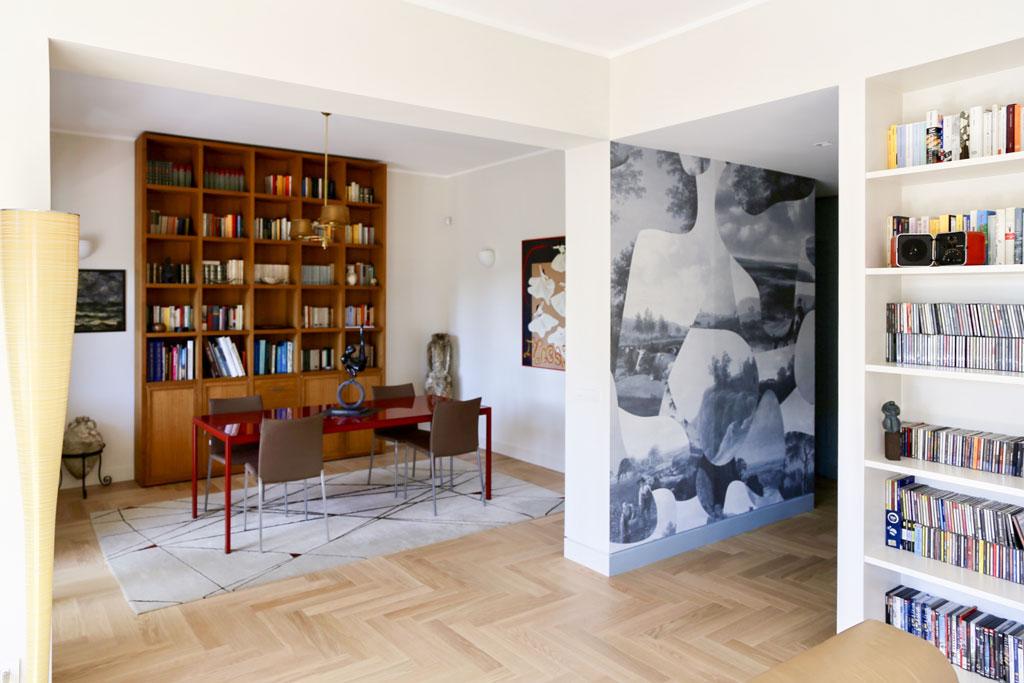 con3studio_architetti_torino_ristrutturazione appartamento EUR pranzo