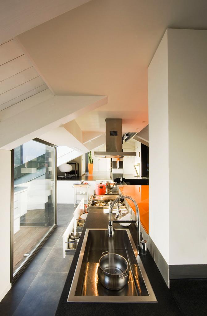 con3studio-architetti-torino progetto mansarda Torino