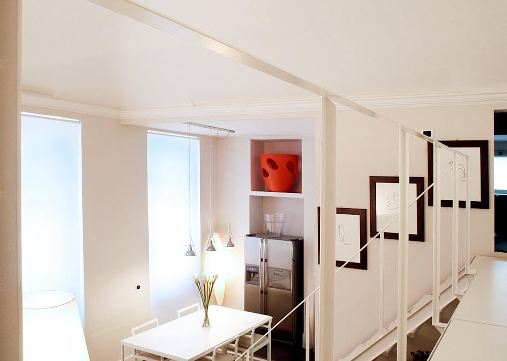 Casa con soppalco in torino con3studio for Piani casa fienile con soppalco