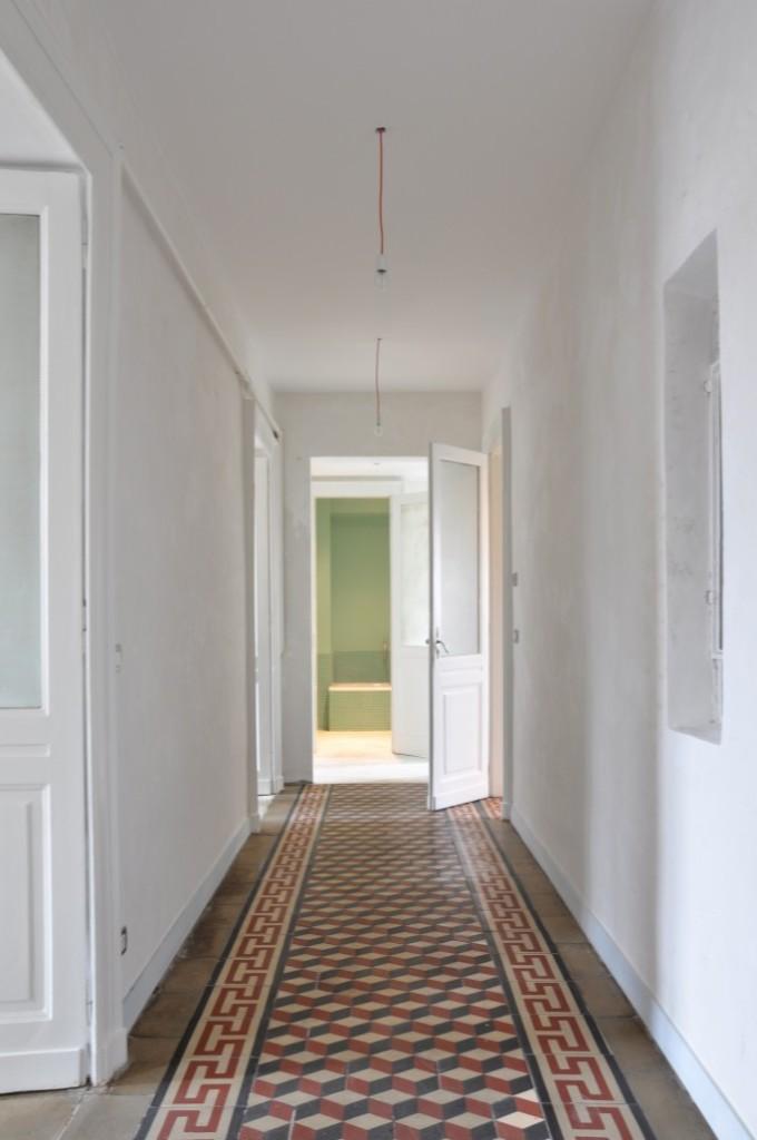 Progetto appartamento con cementine con3studio for Architetti torino