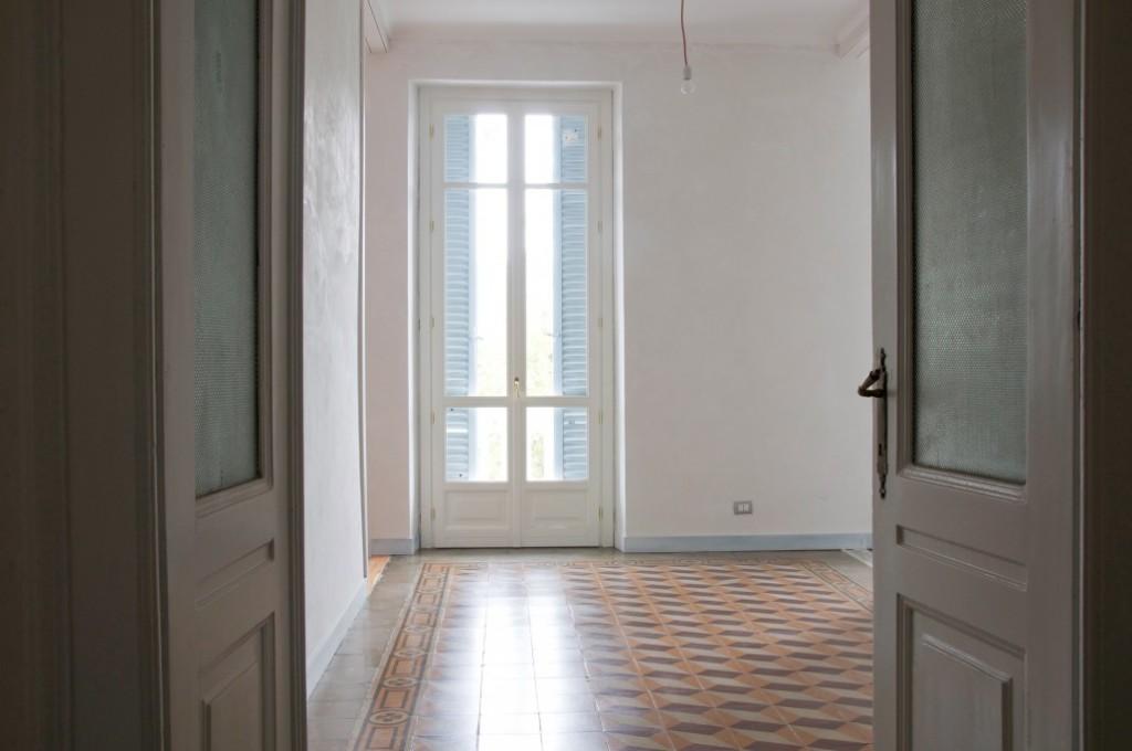 con3studio-architetti-torino progetto appartamento con cementine