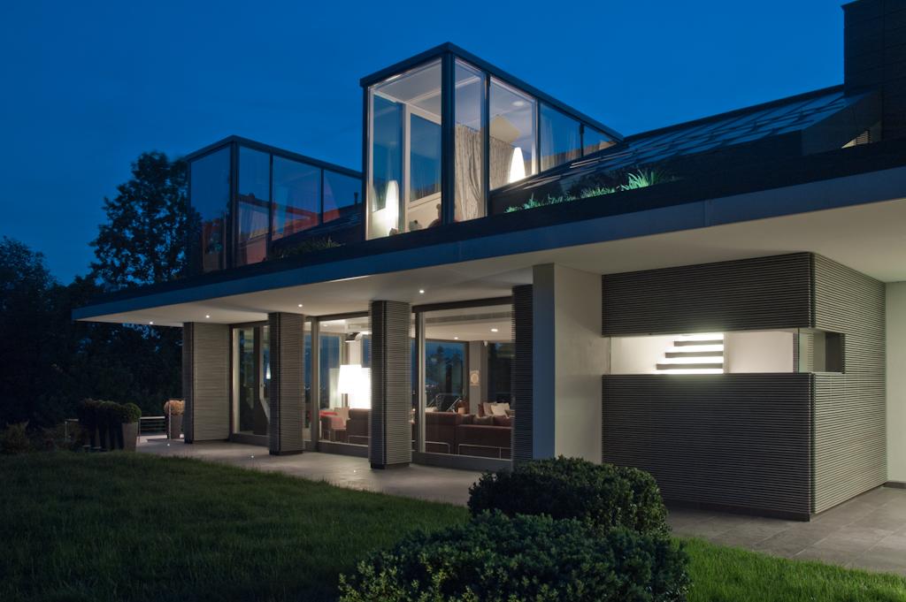con3studio architetti torino - progetto villa collina