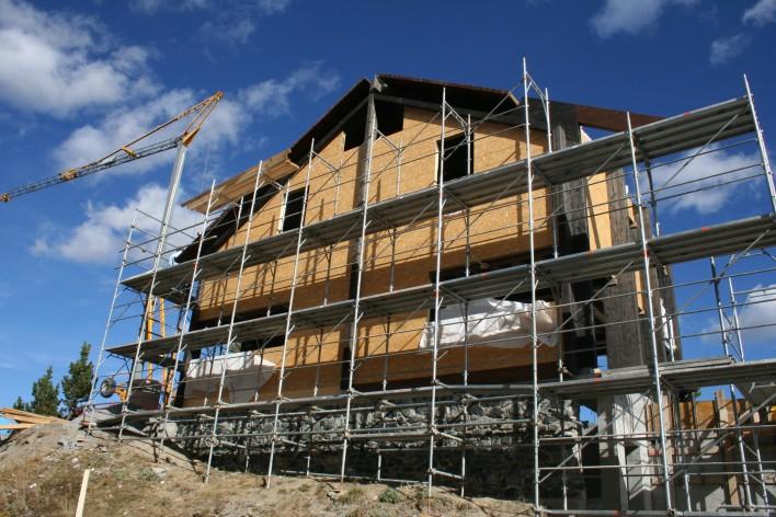 Chalet contemporaneo con3studio architetti for Architetti torino