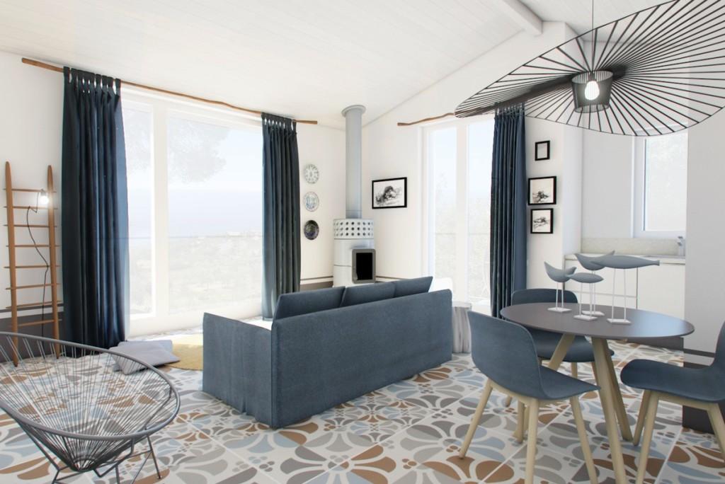 con3studio architetti Torino casa Liguria