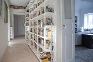 con3studio architetti torino - progetto librerie