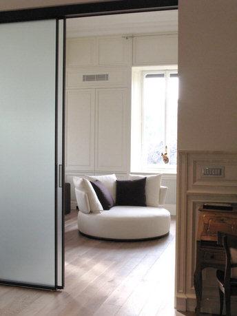 con3studio architetti torino - appartamento in villa d'epoca