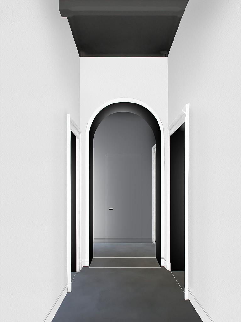 con3studio architetti torino ingresso Nizza