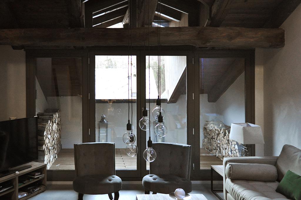 Progetto appartamento montagna con3studio torino for Arredare casa torino